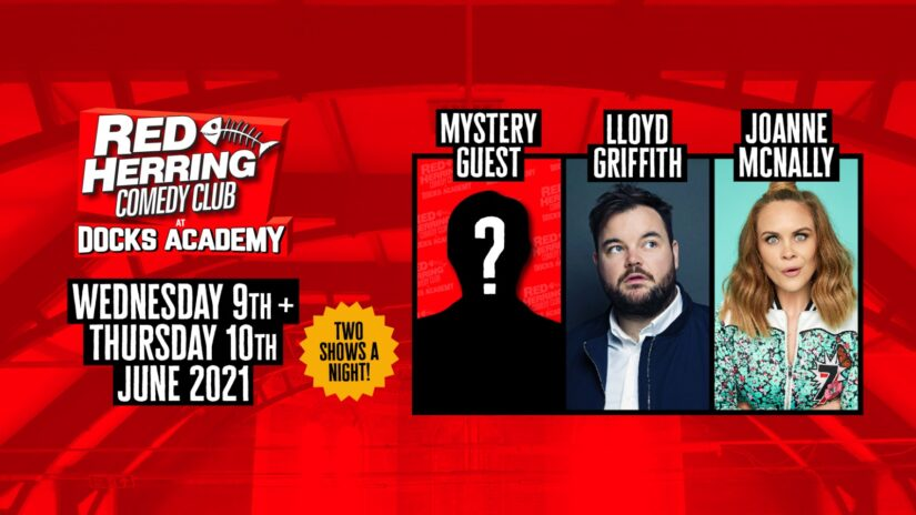 Red Herring Comedy Club – Thurs 10th June – 9pm