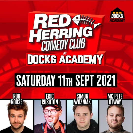 Red Herring Comedy Club – Saturday 11th September